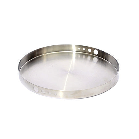 Mod Stainless Steel Round Hole Tray 14 inch