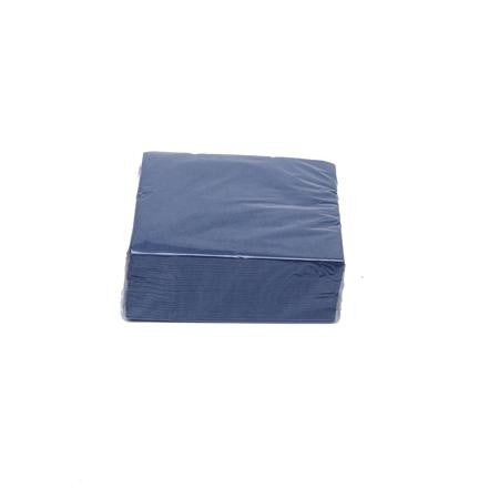 Navy Cocktail Napkins  - Paper Products