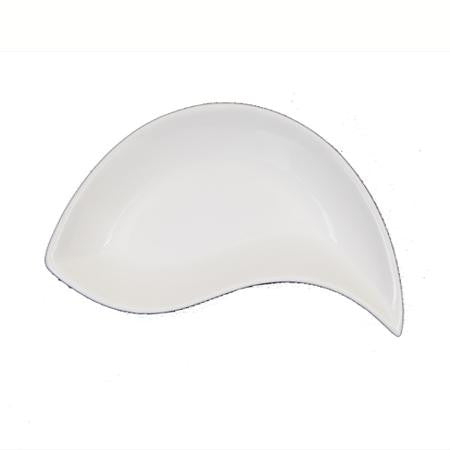 Plate White Arch 6.5 inch 2 oz  - Tasting/Mini Dishes