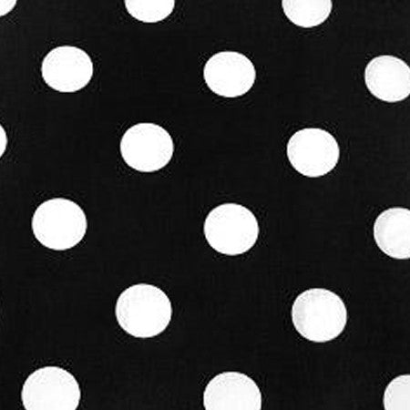 Black and White Dot-Small - Napkins