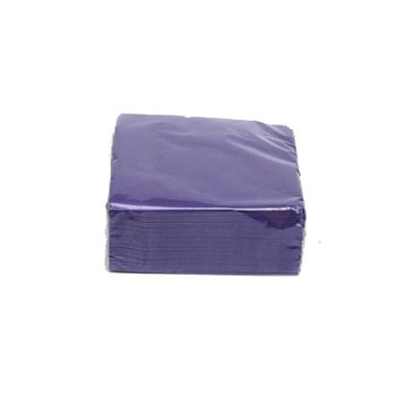 Purple Cocktail Napkins  - Paper Products