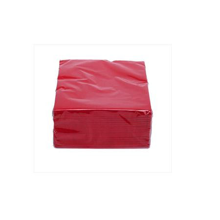 Party Rental Products Red Cocktail Napkins  Paper Products