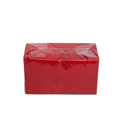 Party Rental Products Red Dinner Napkins/Guests Towels Paper Products