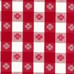 Party Linens Red and White Tavern Check Napkins