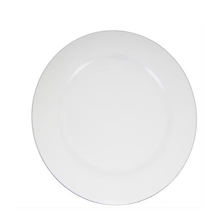Party Rental Products Round White 16 inch   Platters