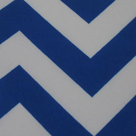 Party Linens Royal Chevron Chevron