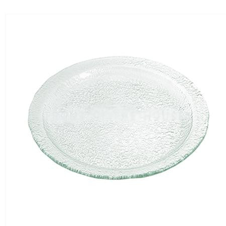 Party Rental Products Seaglass 20 inch  Round Platter Platters