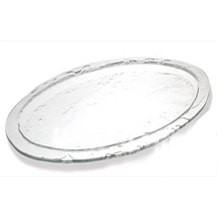 Party Rental Products Seaglass Oval 24x12 Platter Platters