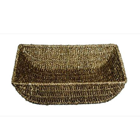 Seagrass 12 inch x8 inch x2 inch  Basket - Tabletop Items