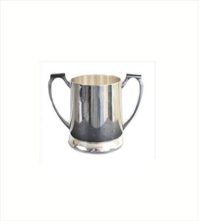 Party Rental Products Silver Sugar Bowl - Caterer Style Coffee