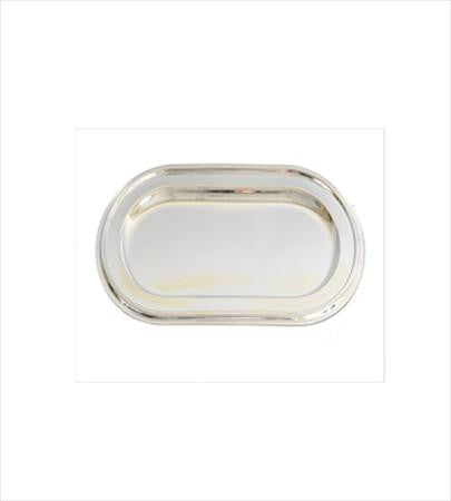 Party Rental Products Silver Tray for Cream and Sugar Set Coffee