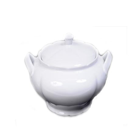 Party Rental Products Soup Tureen White 4qt Bowls