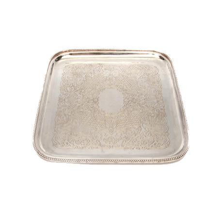 Party Rental Products Square 15 inch  Trays