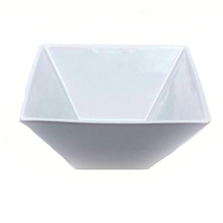 Party Rental Products Square Bowl 10 inch   Bowls