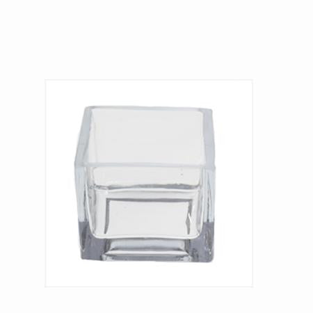 Party Rental Products Square Cube 4 inch  Bowls