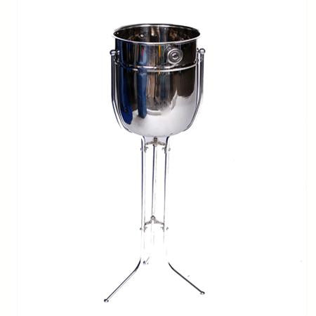 Party Rental Products Stainless Wine Bucket and Stand Bar