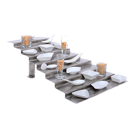 Stainless 7 Tier Step Display