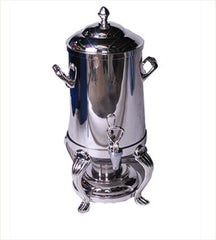 Party Rental Products Straight Side Silver Samovar 100 Cup   Coffee