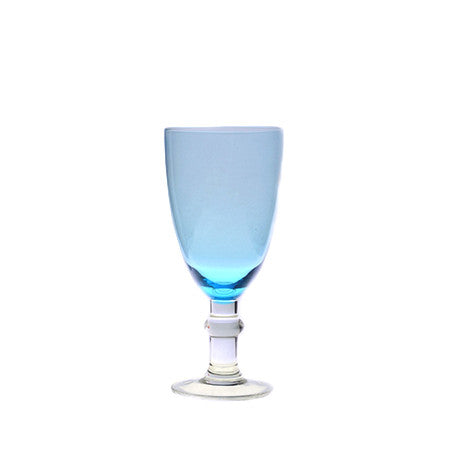 Ariana Tinted Turquoise Goblet 16oz