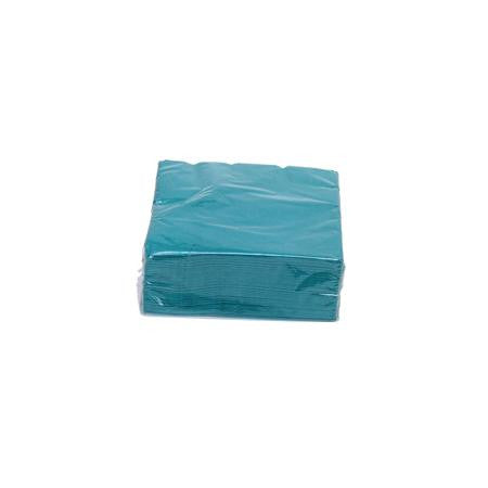 Turquoise Cocktail Napkins  - Paper Products