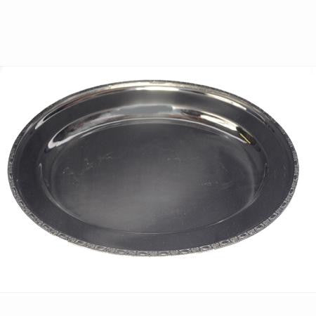 Waldorf Oval Silver Tray - Trays