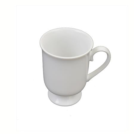 White Footed Mug - Coffee 8oz
