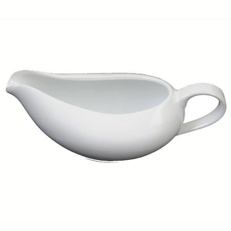 Party Rental Products White Rim Gravy Boat China