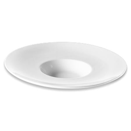 Party Rental Products White Saturn Bowl - 11 inch  China
