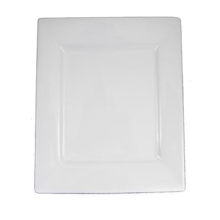 Party Rental Products White Square 10 inch  Dinner China