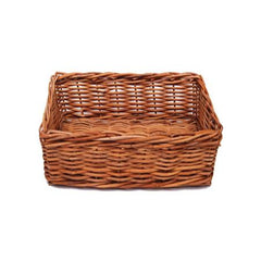 Party Rental Products Wicker Basket 14 inch  x 10 inch  Tabletop Items