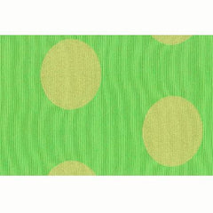 Party Linens Windsong Dot Citrus Green Stripes and Polka Dots