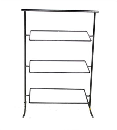 Wrought Iron 3 Tier Rectangle - Trays