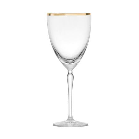 Audrey Gold Rim Water 12oz by Schott Zwiesel