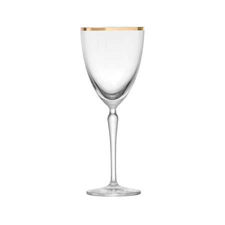 Audrey Gold Rim Wine 10oz by Schott Zwiesel