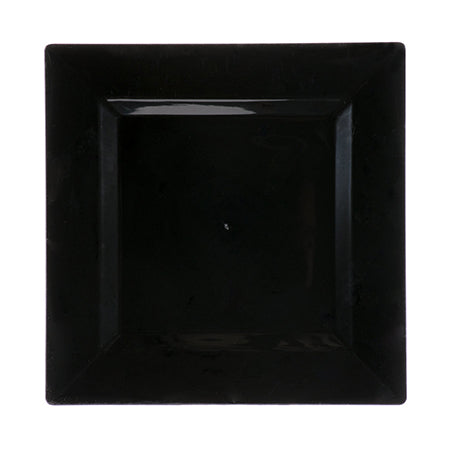 "Black Square 12"" Charger - China"