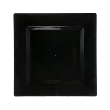 "Black Square 12"" Charger"