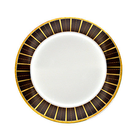 Brown Tiffany Dinner Plate 10