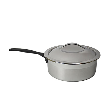 Chafer Pot - 4qt Rd with Handle Brushed SS