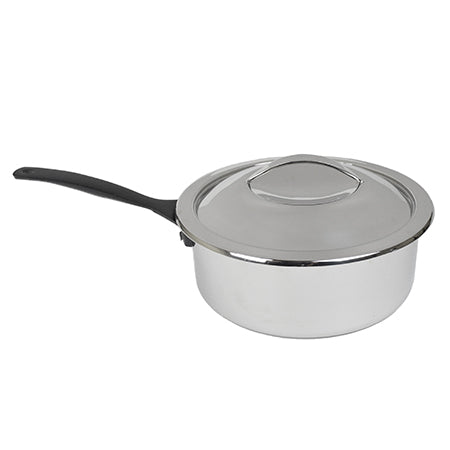 Chafer Pot - 4qt Rd with Handle Polished SS