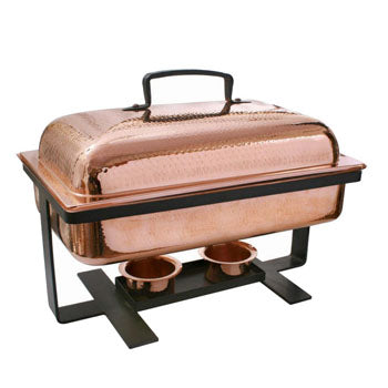 Chafer Copper Rectangle 8 qt