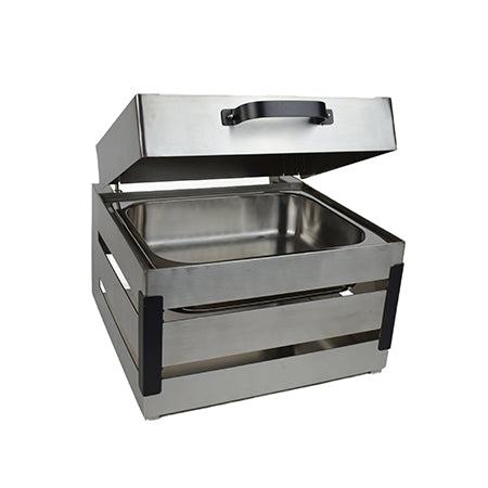 Hydraulic Lid 4qt Crate Chafer