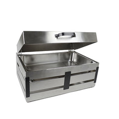 Hydraulic Lid 8qt Crate Chafer