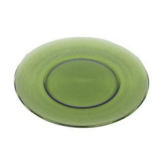 "Dark Green Glass Charger 12"" - Chargers"