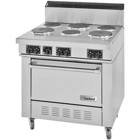 Commercial Electric 6 Burner Stove