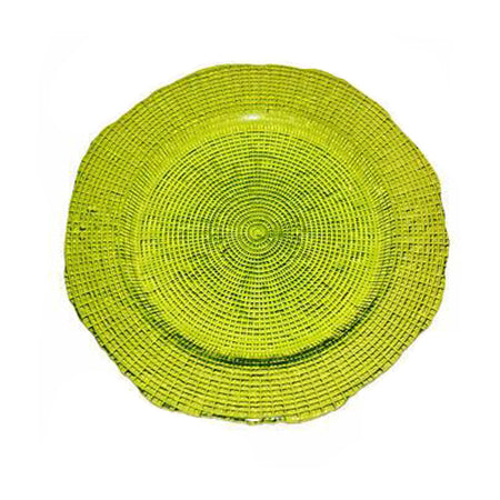 "Eternity Lime Charger 12"" - Chargers"