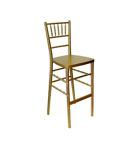Gold Ballroom Bar Stool