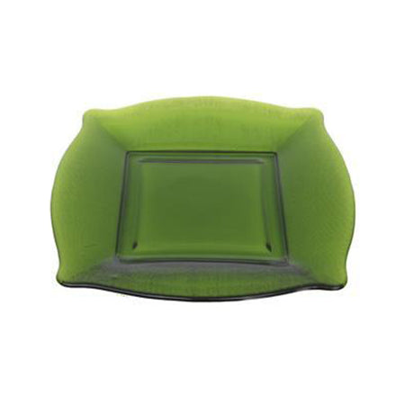 "Green Square Glass Charger 12"" - Chargers"