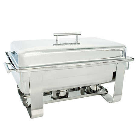 Hammered 8qt Rectangular Chafer
