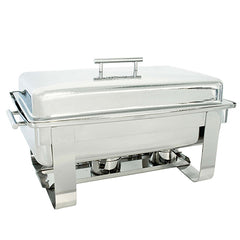 Hammered 8QT Rectangular Chafer - Chafers