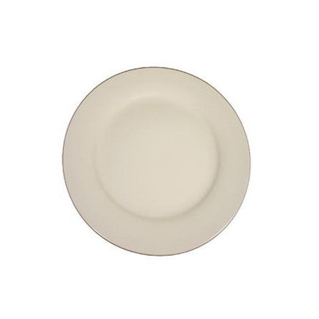 "Ivory Rim 9"" Luncheon Plate"